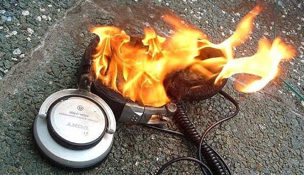 headphone burn in