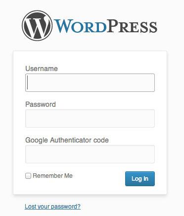 wordpress-google-authenticator