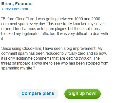 cloudflare testimonial Is cloudflare really good solution?
