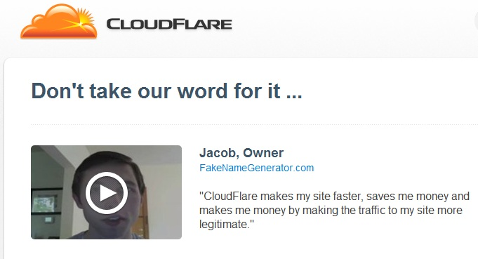 cloudflare testimonials Is cloudflare really good solution?