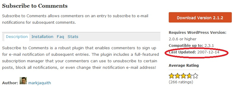 subscribe comments Most valuable wordpress plugin ever!