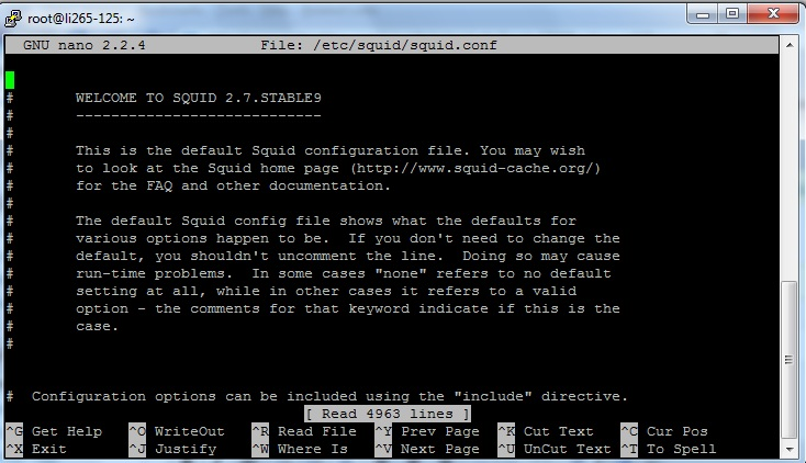 squid config Setup Squid as a HTTP proxy to browse blocked web sites!