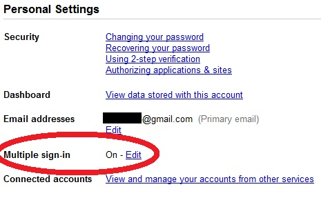 google accounts multiple sign in How to open multiple Gmail accounts on same browser