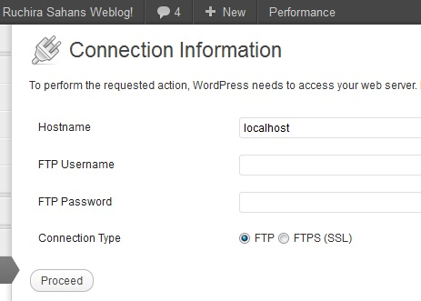 wordpress upgrade via sftp Wordpress blog got hacked? Part 1 What are the common mistakes you make!