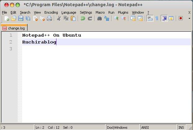notepad++ ubuntu Install Notepad++ on Ubuntu