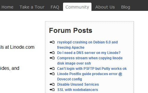linode new posts Display new threads of a vbulletin forum, on a wordpress post or page