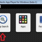 bluestacks app search 150x150 How to Install Whatsapp on PC