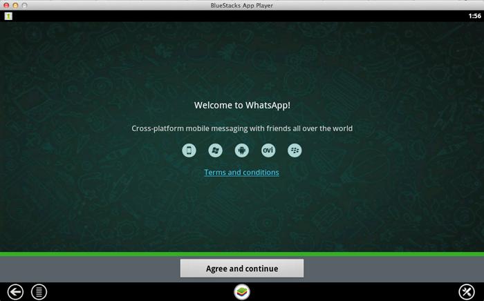welcome to whatsapp on mac