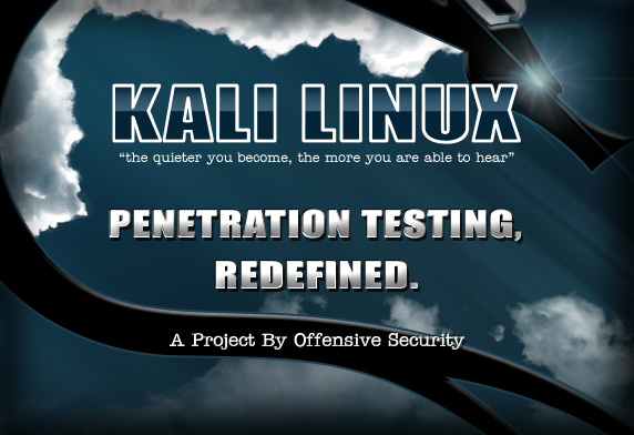 kali linux Kali Linux, the ultimate penetration testing suite