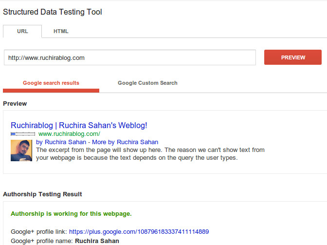 google-authership-test