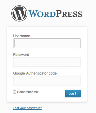wordpress-google-authenticator