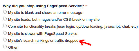 page-speed-rank-drop